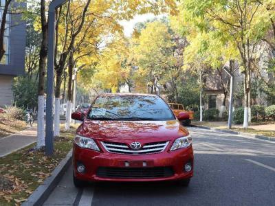 丰田 卡罗拉  2011款 1.6L 自动GL天窗版图片