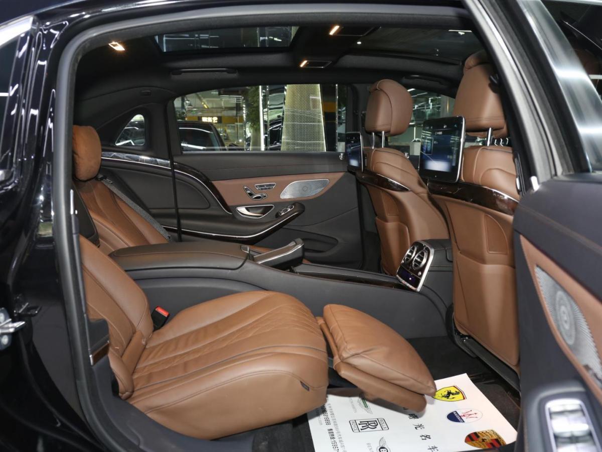 奔馳 邁巴赫S級  2019款 S 450 4MATIC圖片