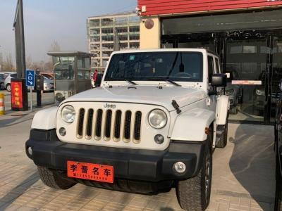Jeep 牧马人  2015款 3.0L Sahara 四门版