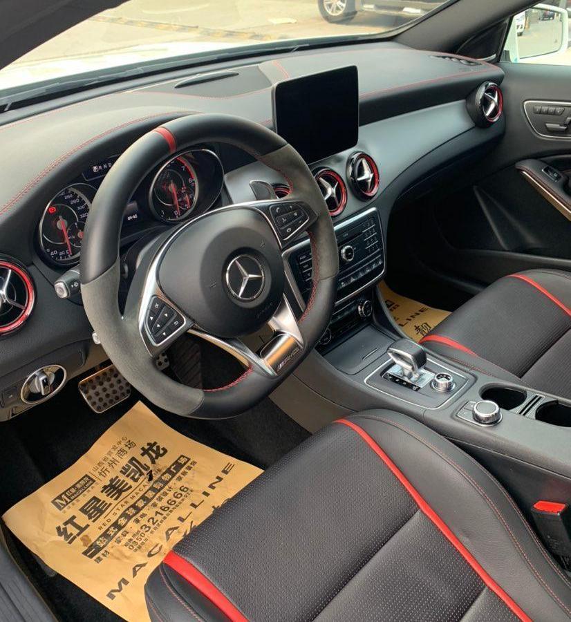 奔驰 奔驰GLA AMG  2016款 AMG GLA 45 4MATIC图片