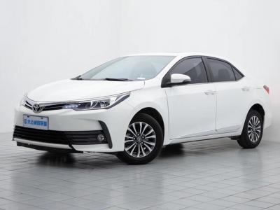2018年3月 丰田 卡罗拉 改款 1.2T S-CVT GL-i真皮版图片