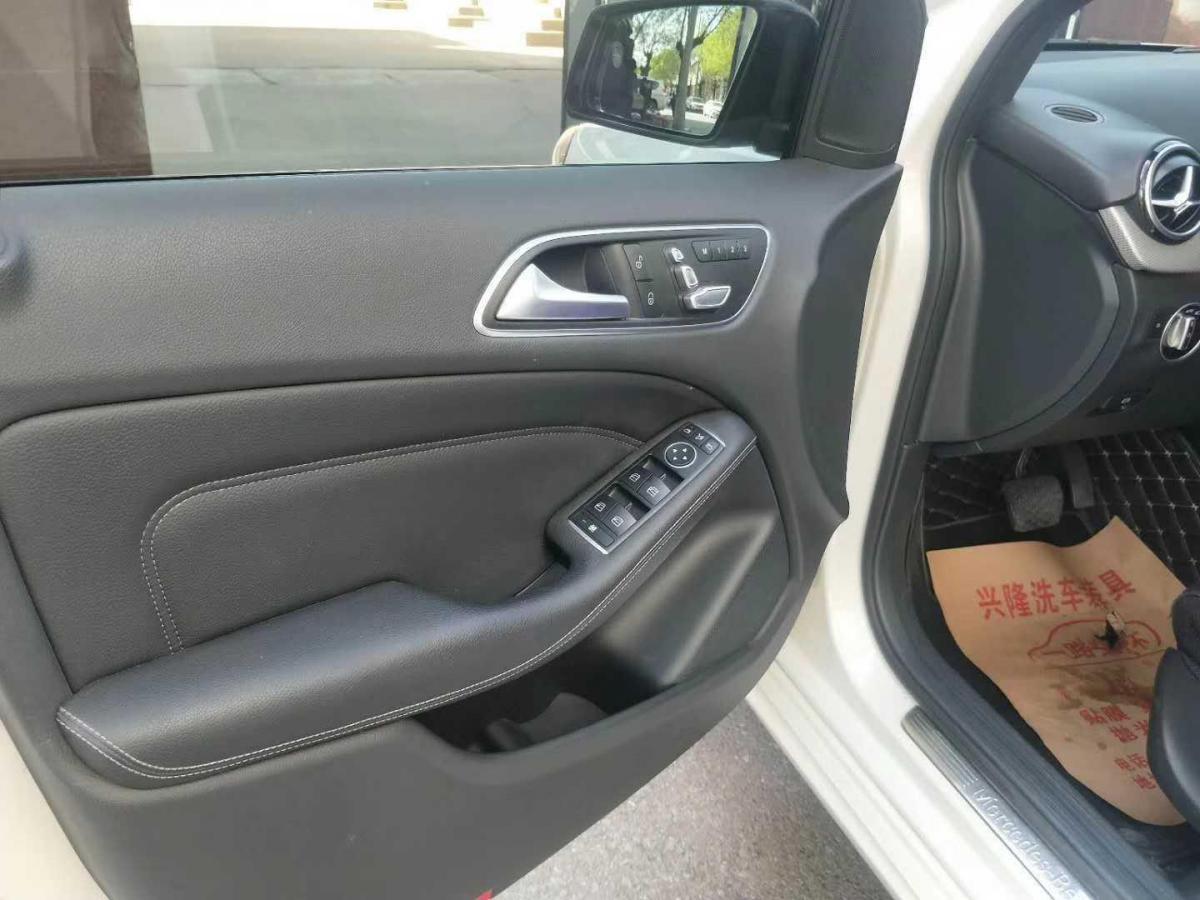 奔驰 奔驰B级  2015款 B 200 时尚型图片