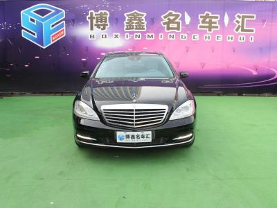 2013年9月 奔驰 奔驰S级(进口) S 300 L 商务简配型图片