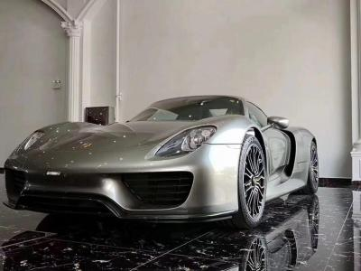 2018年6月 保时捷 918 Spyder Weissach package 4.6L图片