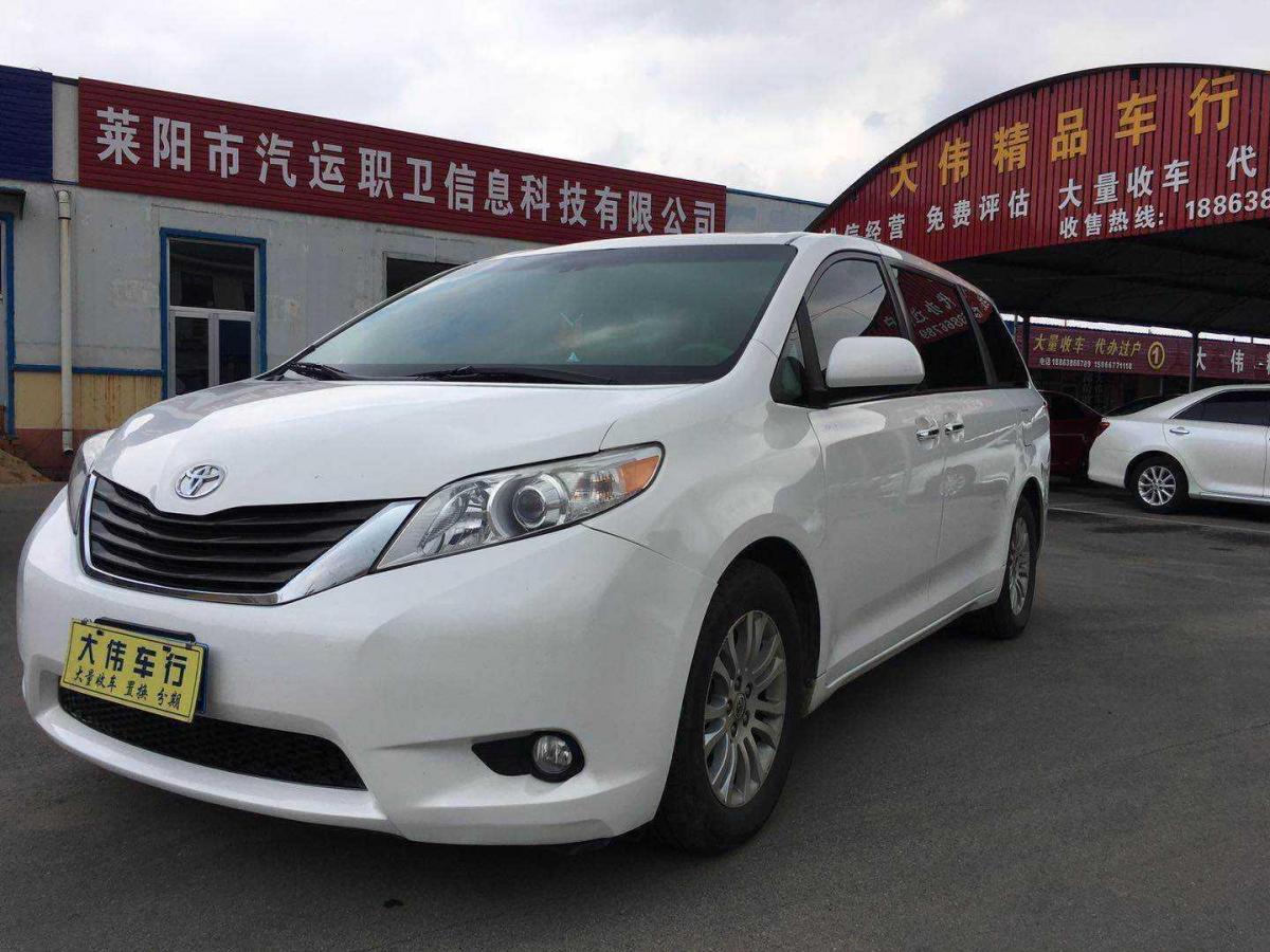 2011年6月 丰田 塞纳(进口) 3.5L 两驱自动型图片