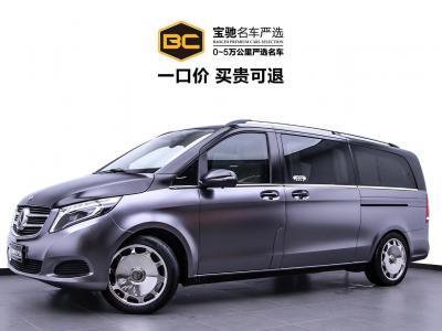 2019年9月 奔驰 V级  V级 V250 2.0T Avantgarde 加长(中东)图片