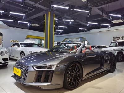 奥迪 奥迪R8  2017款 V10 Spyder