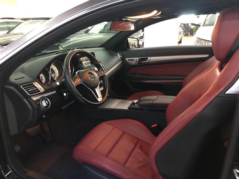 奔驰 奔驰E级  2014款 E 200 轿跑版图片