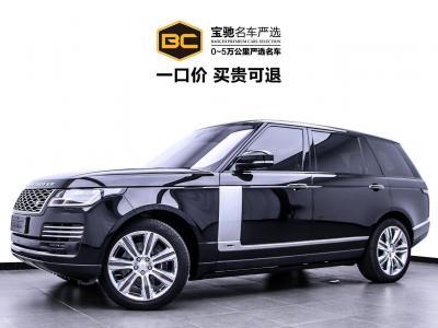 2019年12月 路虎 揽胜  3.0 V6 SC 传世加长版图片