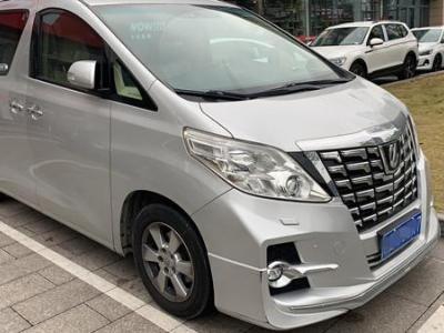 丰田 埃尔法  2011款 2.4L 豪华版