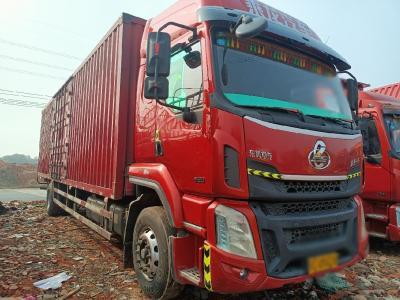 柳汽德龍H5單橋廂式貨車,240馬力9.6米,國五排放