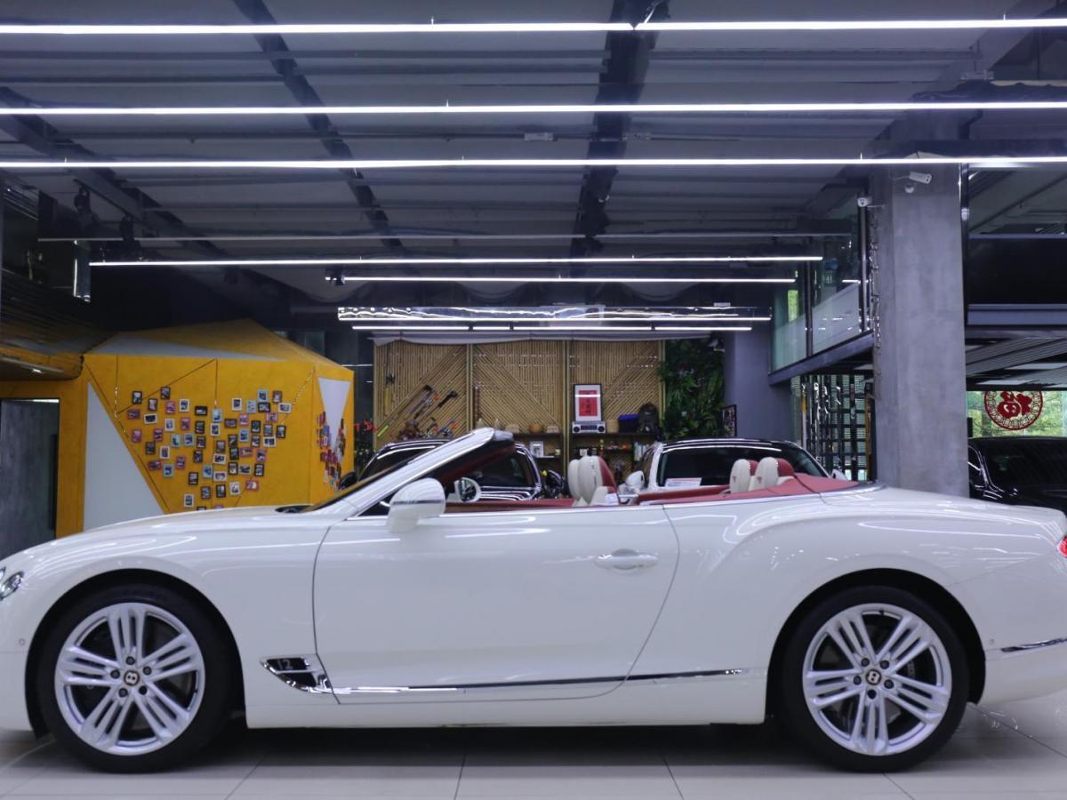宾利 欧陆  2019款 6.0T GT W12 敞篷版图片