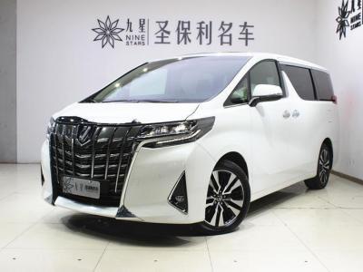 2019年3月 豐田 埃爾法  改款 3.5L 尊貴版圖片