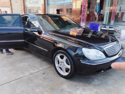 2002年3月 奔驰 S级 S600 5.8L图片
