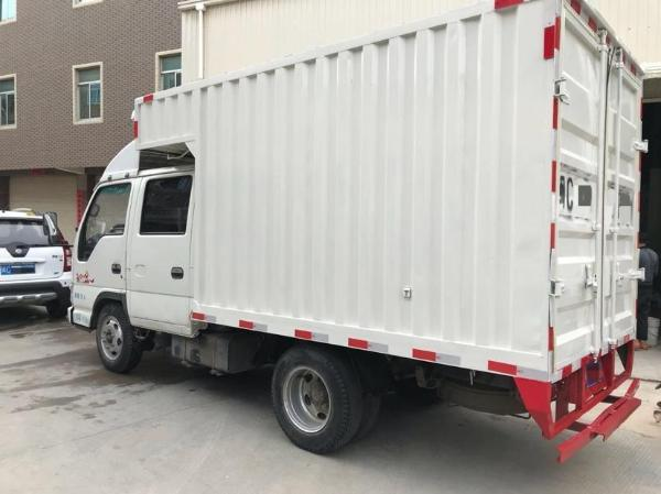 二手双排厢式货车报价及图片 出售二手五菱厢式小货车图片
