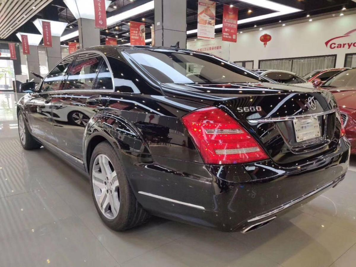 奔馳 奔馳S級  2010款 S600L 5.5T圖片