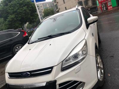 福特 翼虎  2013款 2.0L GTDi 四驱尊贵型