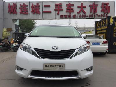 2014年3月 丰田 塞纳(进口) 2.7L 两驱 高配图片