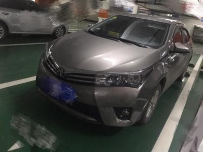 丰田 卡罗拉  2017款 1.6L 手动 GL