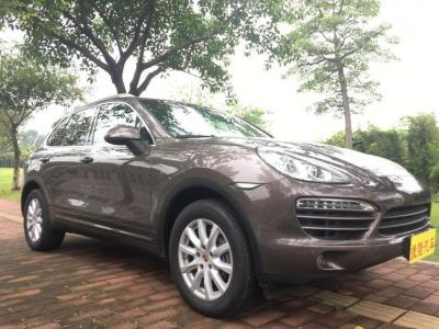 保时捷 Cayenne  2014款 Platinum Edition 3.0T图片