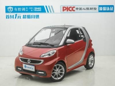 Smart Fortwo  Coupe 1.0 MHD BoConcept特别版图片