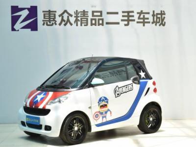 Smart Fortwo Cabrio 1.0T 燃橙版图片