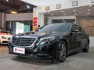 奔驰 奔驰S级  2014款 S 320 L 商务型?#35745;?/>                         <div class=