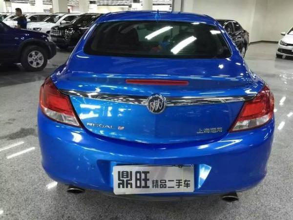 【南京】2009年12月 别克 君威 2.0t 豪华运动版 蓝色 自动档