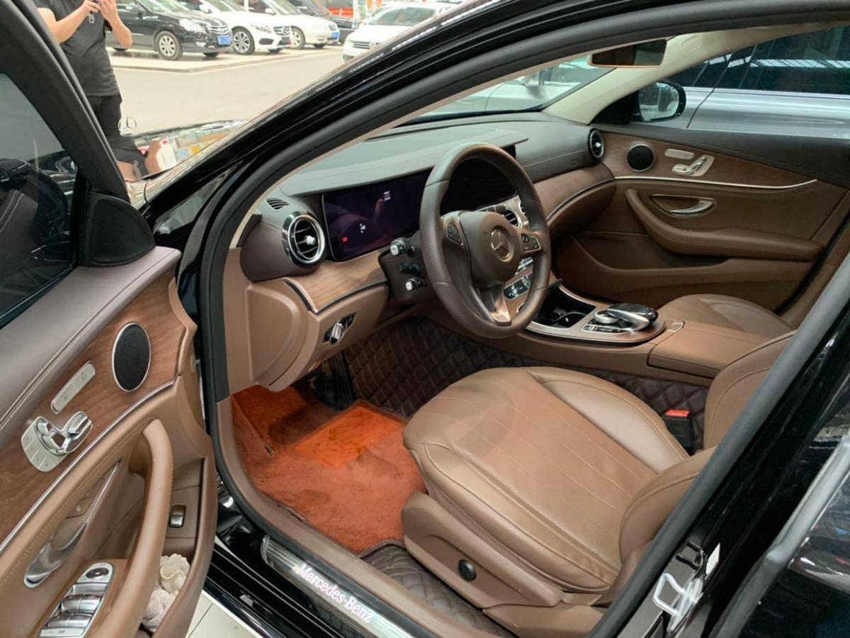 奔驰 奔驰E级  2018款 E 300 L 时尚型图片
