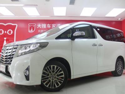 豐田 埃爾法  2018款 3.5L 豪華版圖片