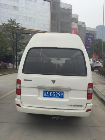 【杭州】2010年6月 福田 风景 快运 2.2 标准型 长轴版 白色 手动挡