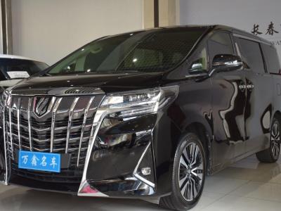 丰田 埃尔法 2019款 改款 3.5L 豪华版图片