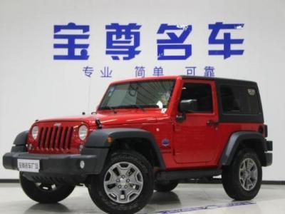 Jeep 牧马人  3.6 两门 Sahara
