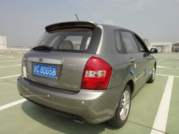 【上海】2009年9月 起亚 赛拉图 欧风 1.6 gl 灰色 自动档图片