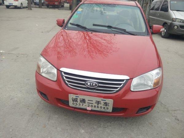 【济南】2008年1月 起亚 赛拉图 2007款 1.6 gl 1.6 红色