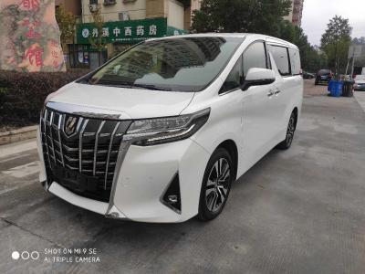 2018年9月 丰田 埃尔法(进口) 改款 3.5L 豪华版图片