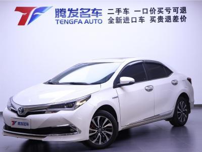 2019年6月 丰田 卡罗拉  改款双擎 1.8L E-CVT精英版图片