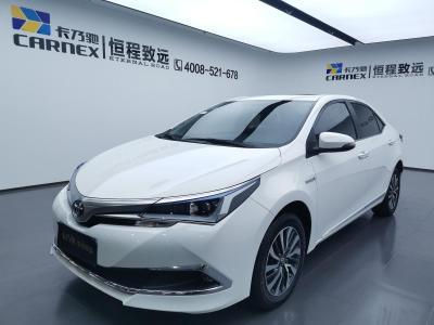 2017年8月 丰田 卡罗拉 改款双擎 1.8L E-CVT精英版图片