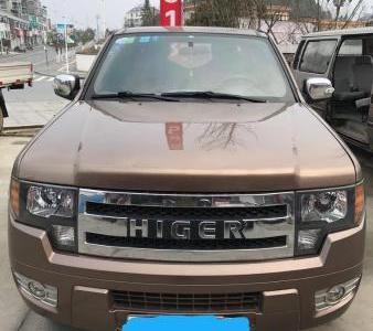 海格图片 龙威 2.5T 柴油四驱加长型