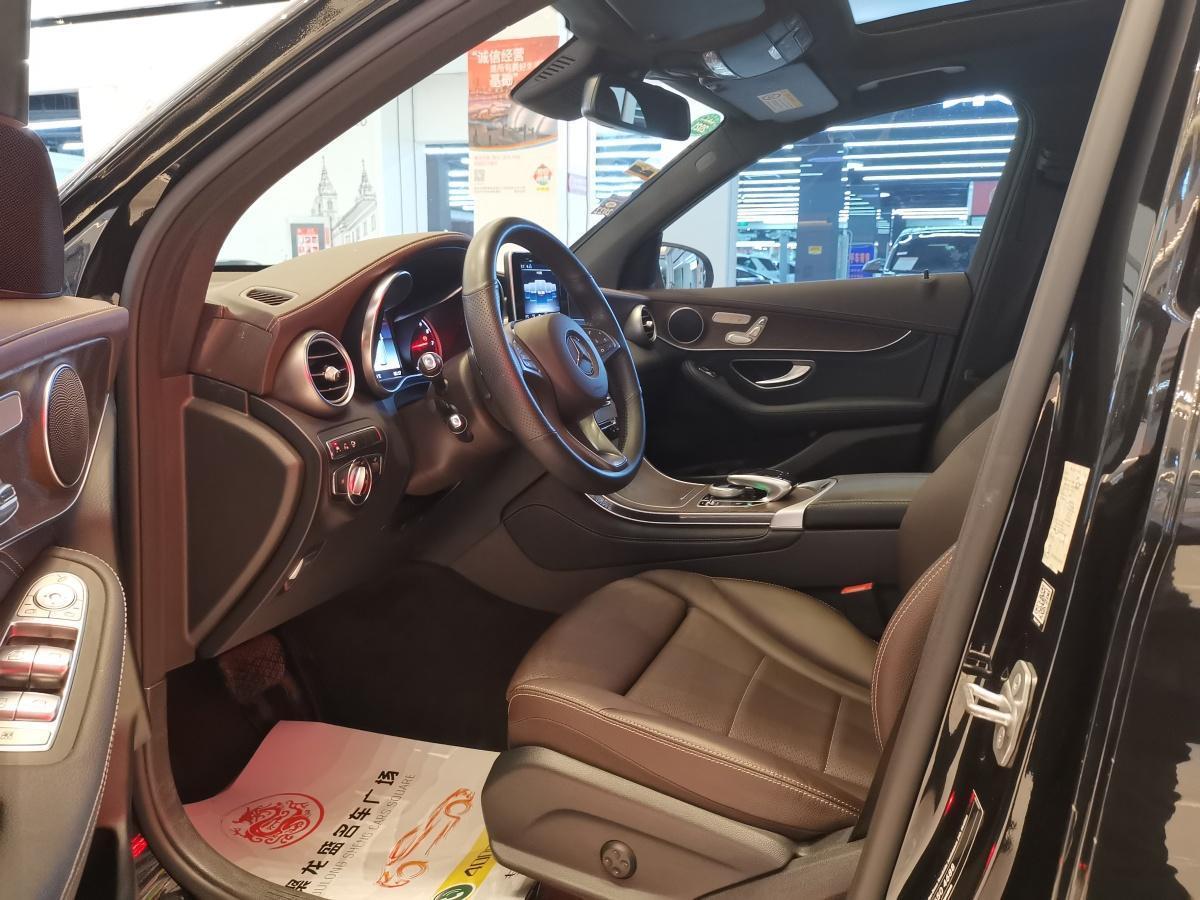 奔驰 奔驰GLC  2018款 GLC 300 4MATIC 动感型图片