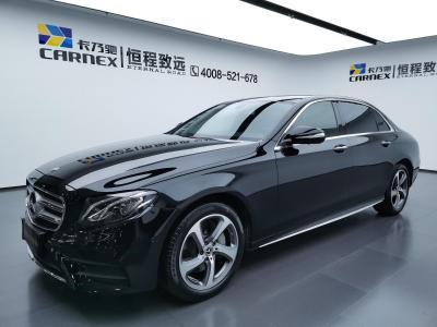2019年10月 奔驰 奔驰E级 改款 E 300 L 运动豪华型图片