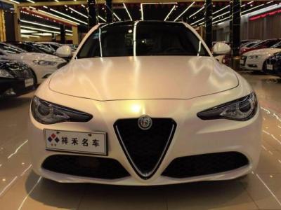 阿尔法·罗密欧 Giulia  2017款 2.0T 200HP 豪华版