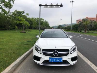 2019年2月 奔驰 奔驰GLA AMG 改款 AMG GLA 45 4MATIC图片