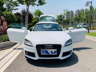 2012年11月 奥迪 奥迪TT(进口) TT Coupe 45 TFSI quattro 白色经典版图片
