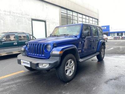 2019年3月 Jeep 牧馬人  2.0T Sahara 四門版圖片