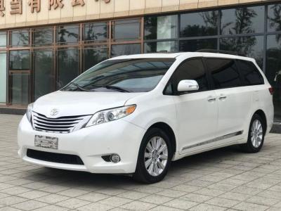 2013年6月 丰田 塞纳(进口) 3.5L 四驱自动型图片