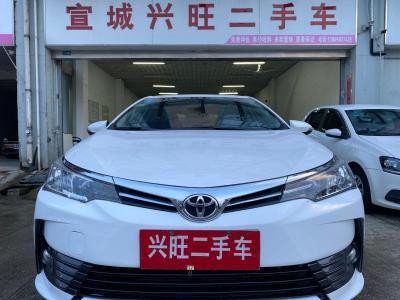 2017年10月 丰田 卡罗拉 1.2T CVT GL图片