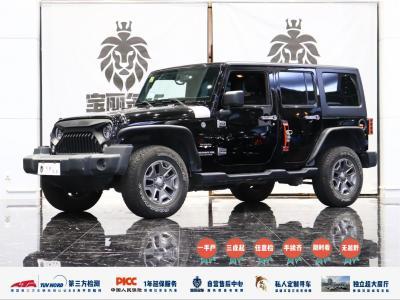 2018年4月 Jeep 牧马人(进口) 3.0L Sahara 四门舒享版图片