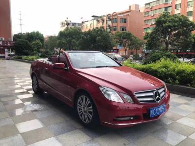奔馳 奔馳E級  2010款 E 260 CGI Coupe