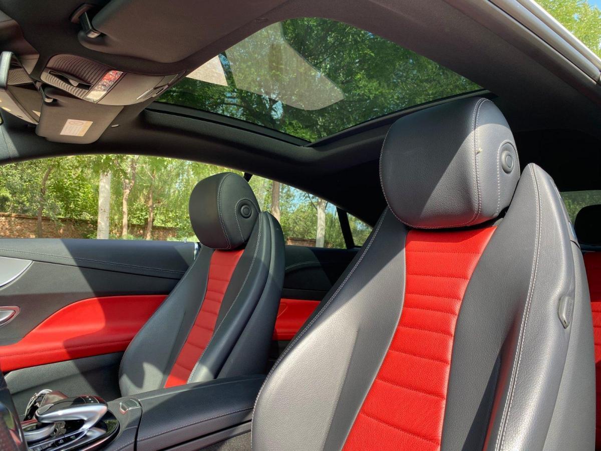 奔驰 奔驰E级  2017款 E 200 4MATIC 轿跑车图片